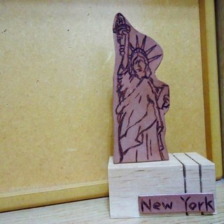 My city -New York, New York Baishi, Paperweight, message folders, business cards