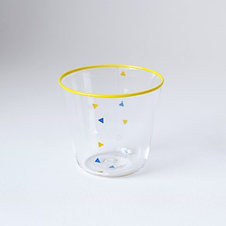 Confetti-Glass(Yellow)