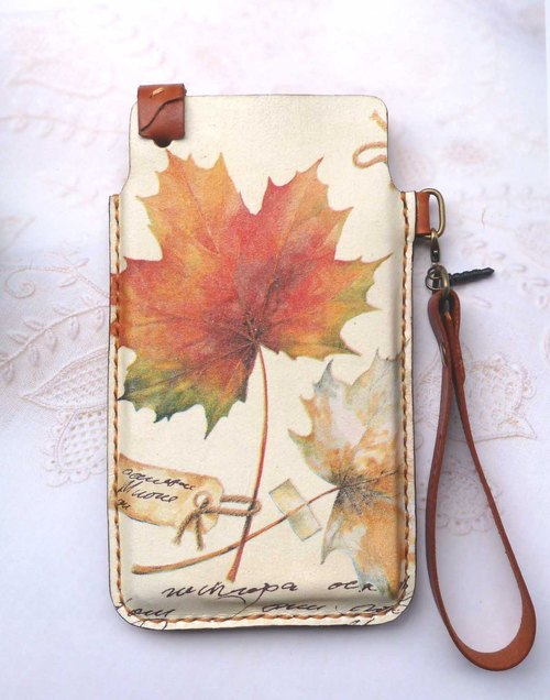 Autumn iphone / iphone plus / htc / samsung mobile phone sets (+ pocket)