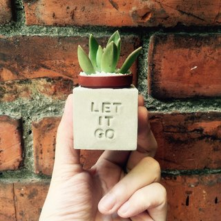 Let It Go !!! magnet pot