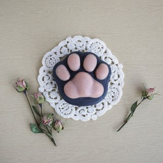 Bamboo Charcoal Cat Paw Soap (For Body) – Rose