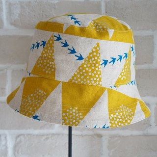 [clothing] double-sided fisherman hat