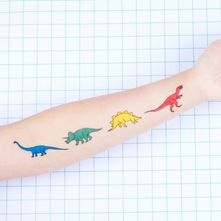 Surprise Tattoos /  Dinosaur II Temporary Tattoo