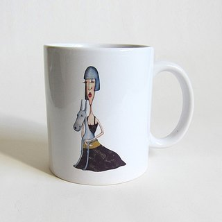 Miss Iceberg coffee cup / mug