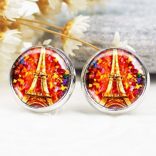 Eiffel Tower - ear clip earrings earrings ︱ ︱ ︱ little face modified fashion accessories birthday gift