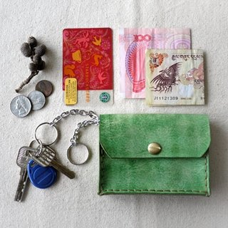 [Kaka & amp; sun] key small leather bags handmade leather goods