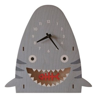 modern moose-3D clock-shark pendulum clock
