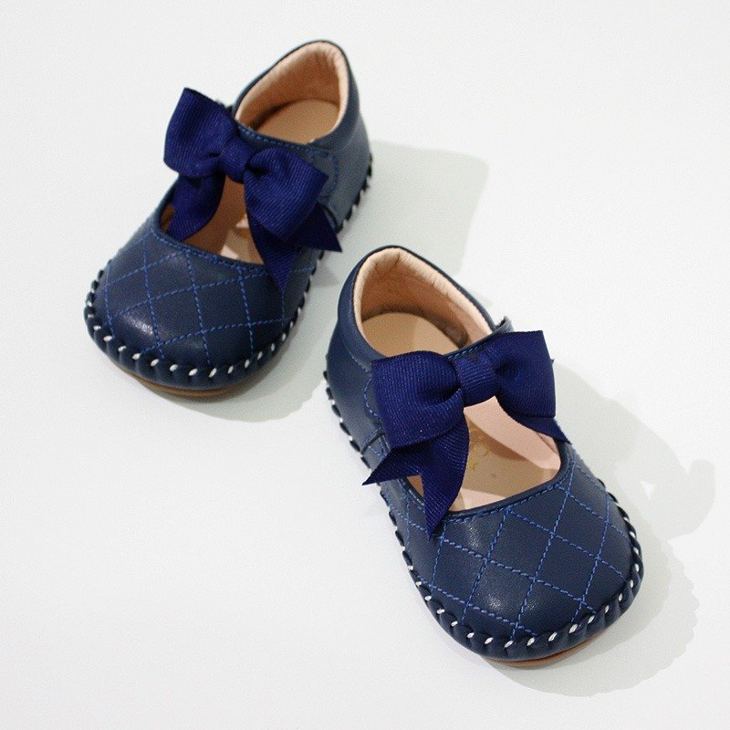 Small fragrance rhombic baby shoes - Fashion Blue 12.5