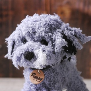 Pets avatar 13 ~ 15cm [feiwa Fei doll handmade doll pet poodle flower] (welcome to build your dog)