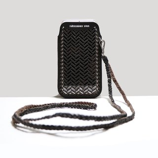 HÉRISSON D'OR Rachel weave iPhone7 case - black