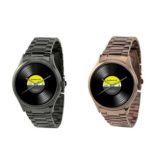 Vinyl Watch - Stainless Steel