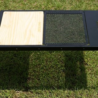 PICCALIVING steel camping folding table function in the sky black money