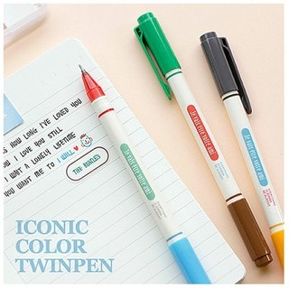 ICONIC-0.4 double-headed pen-3 into, ICO97275