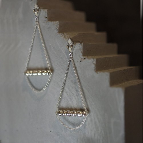 Swing sterling silver earrings INCARUS EARRINGS