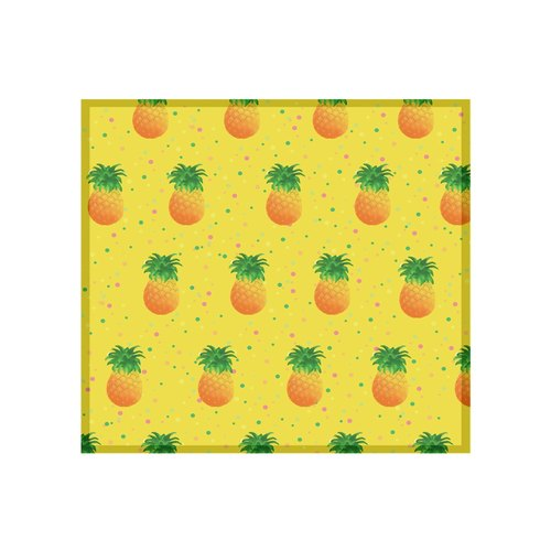 [Universal] Fruit Series pineapple cloth bite ll Wipes