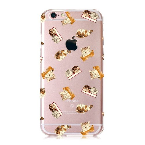 [Sleepy] meow Star iPhone transparent Phone Case - Big Tail rogue Valentine's Day