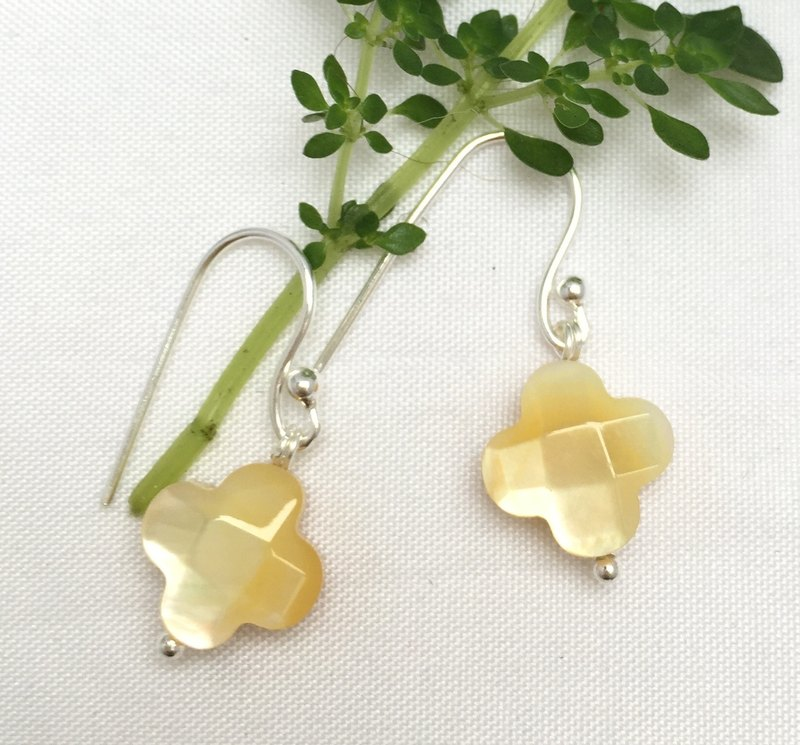E0337 - The Best Of Fashionable Gifts - Make Your Own - Natural Gemstone - Sterling Silver 925 Earrings
