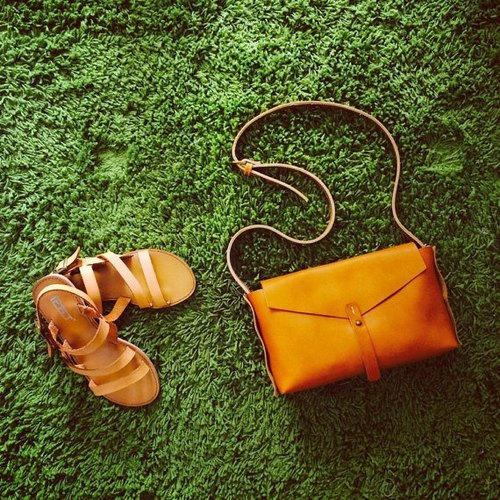 sobag original design hand-stitched full-leather yellow plant melted skin leather handbag shoulder diagonal