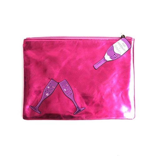 Exclusive champagne pink bag