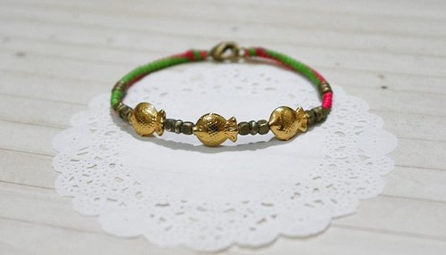 Thai silk wax line X brass * fish swimming color can be chosen to go to * // // - Limited X1-