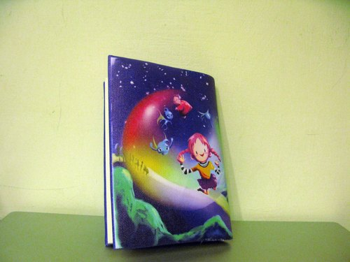 bubble ship(L) - A6cover + blank book