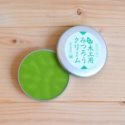 Micro forest. Japan imported natural beeswax cream 40g green woodwork woodworking Wood maintenance Wood Care