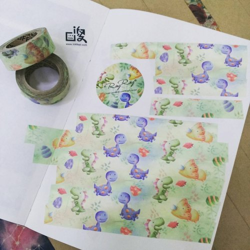 India fool each past are memorable: the dinosaur's flower paper tape for money * * 625 flash