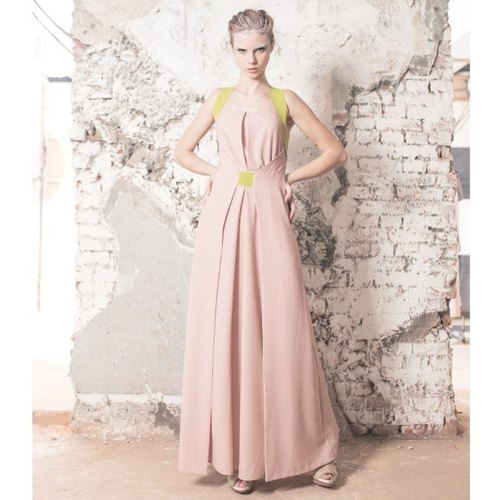 [Celebrate the opening of] even salmon-colored dress length (List 14800)