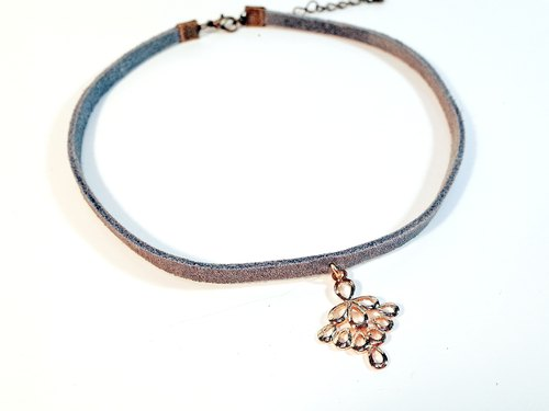 W&Y Atelier - Leather Choker , Necklace (2 colors)