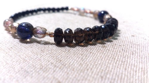 citrine crystal in dearsharka || cordierite x x x labradorite black onyx. Qin Shu Mei quiet leisurely charm
