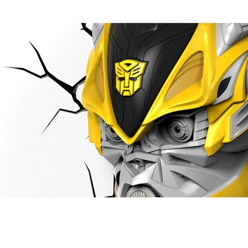 Transformers 3D modeling wall lamp - Autobot Bumblebee Bumblebee