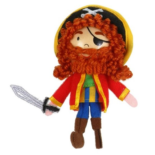 [UK Fiesta moving hands +] bearded pirate play creative ideas fingers even Toys