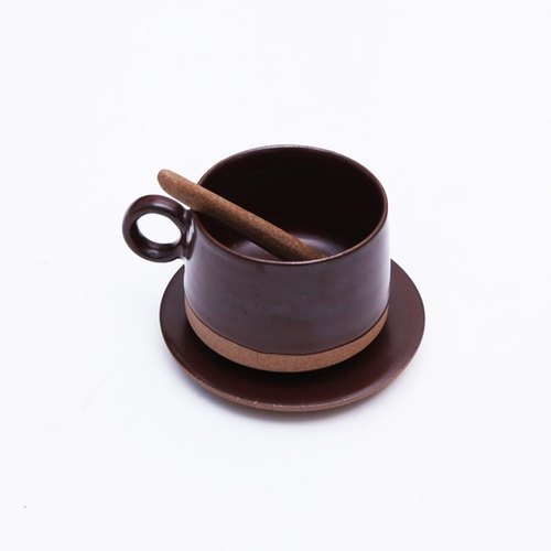 Creative handmade chocolate coffee cup group concentrated cute minimalist modern design Jingdezhen