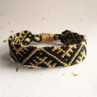 Small tent lucky rope woven bracelet (optional color)