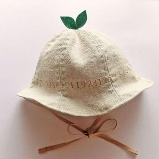 Grow Up! Leaf Hat for Baby & Toddler / NUMBERS
