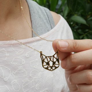 Glorikami Cat face Necklace