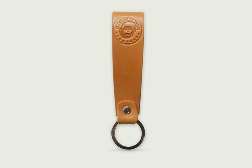 Dreamstation leather Pao Institute, handmade vegetable tanned leather key ring, key ring.