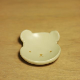 Glaze saucer animal series - polar bear