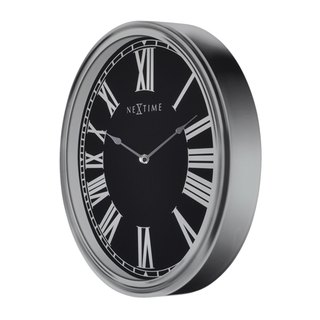 NeXtime - Magic Arabic Roman pattern stereo clock