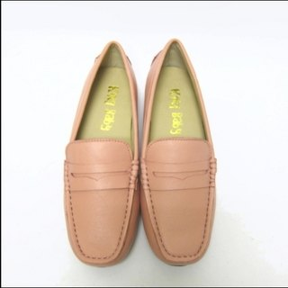 Fort Tony Wang handmade leather shoes (female) [sheep / soled / pink]