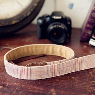 [Listing Limited time special celebration breakthrough 1000] iviego05 camera strap - pink stripes