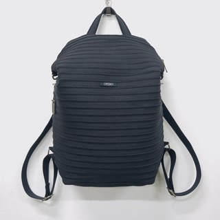 Large backpack after [black] minimalism