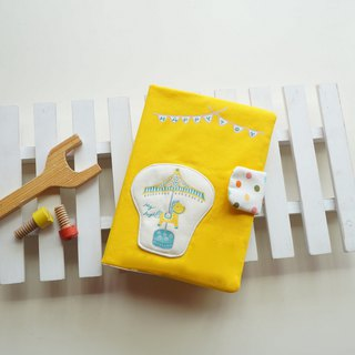 Hand-painted carousel  baby health manual set
