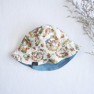 Gentle Double Sided Fisherman Hat Series | Rabbit Wreath