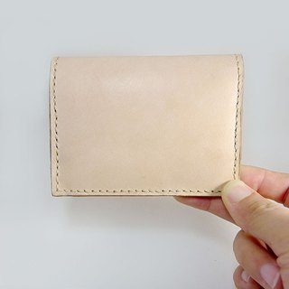Leather card holder (with change cell)