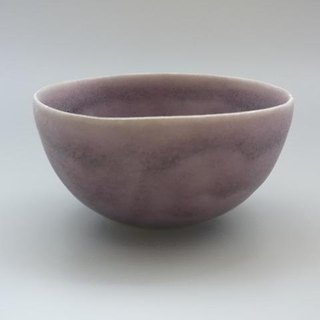 coco#1 blackish red (porcelain small salad bowl)