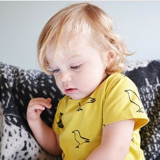 Nordic Organic Cotton Tops Duck Yellow