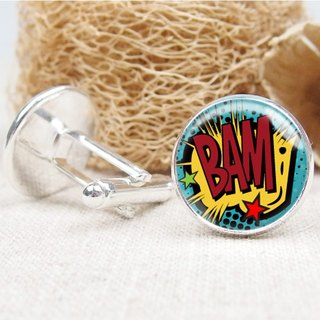 Comic Dialog - Cufflinks / Shirt Accessories / Birthday Gift [Special U Design]