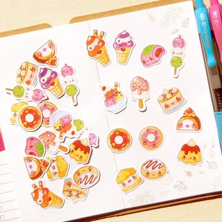 Pastry Stickers - 30 Pieces - Planner Stickers - Stickers for Planner