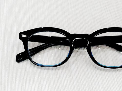 Black Blue Boston Eyeglasses Made in Japan eyeglass frame reading ...
